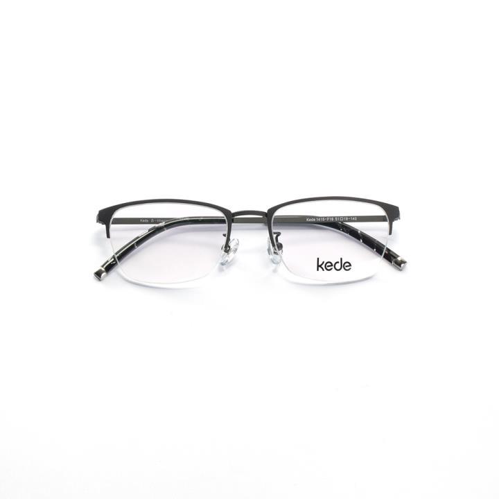 Kede时尚光学眼镜架Ke1415-F16 深灰色