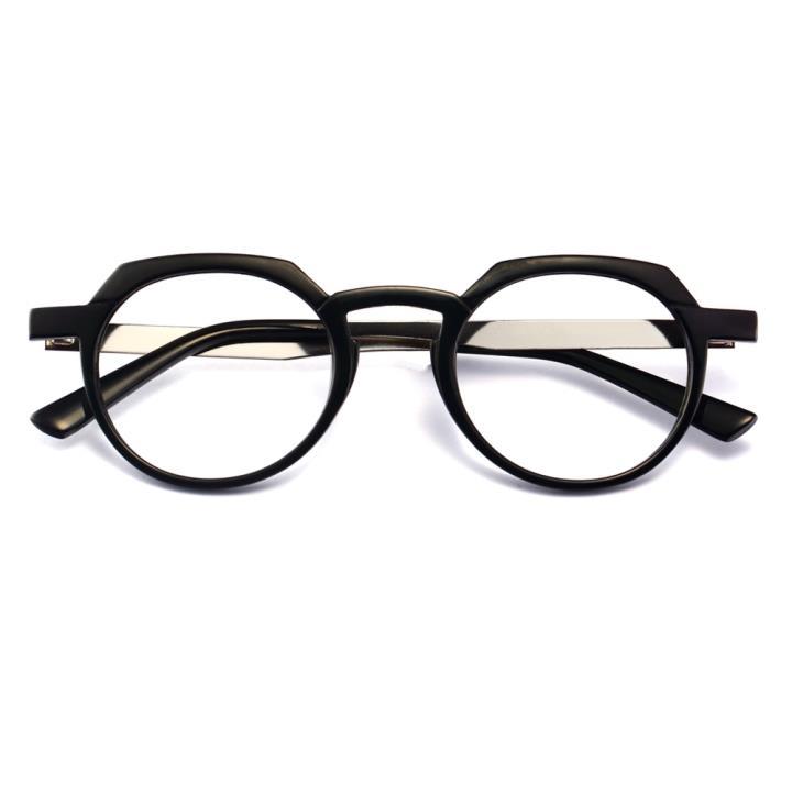 HAN时尚光学眼镜架HD3504-F02 经典亮黑