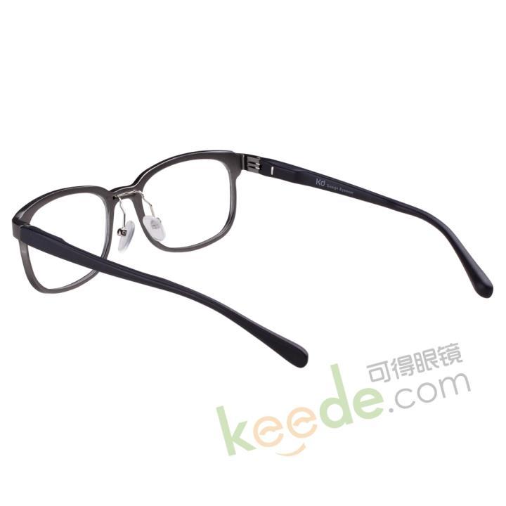 KD设计师超炫铝眼镜KD358B-C1