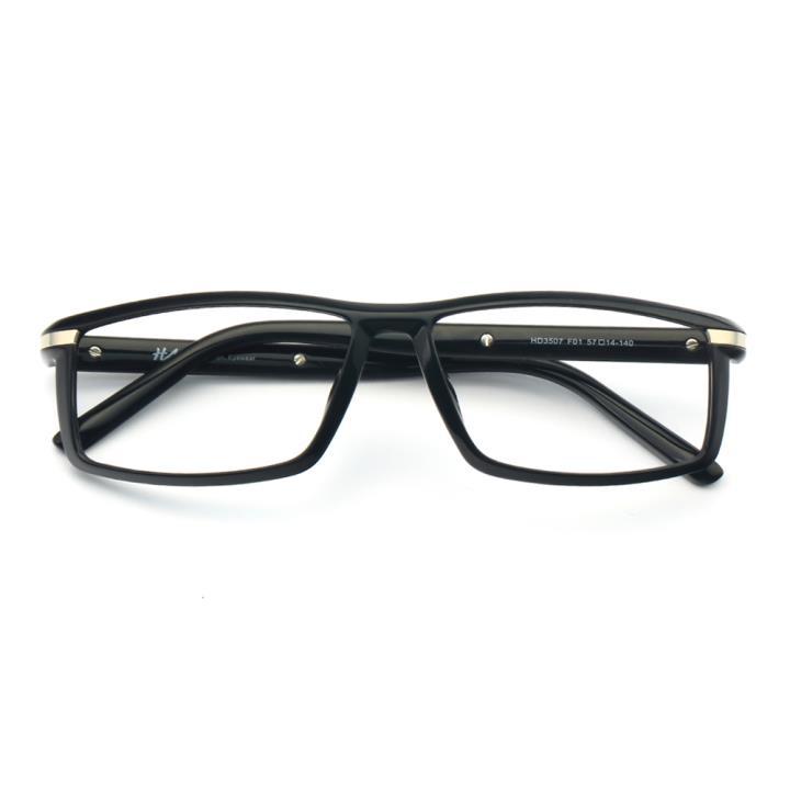 HAN时尚光学眼镜架-经典纯黑(HD3507-F01 )