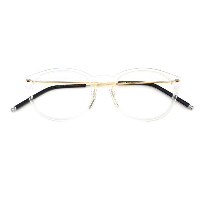 HAN尼龙不锈钢光学镜架-透明色(HD49177-C3)