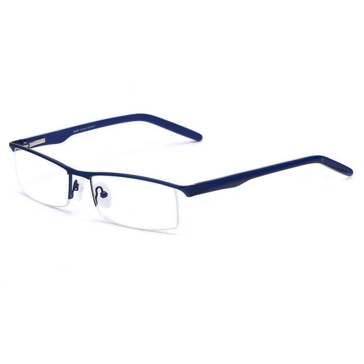 HAN不锈钢光学眼镜架HD4810-F07 蓝色(小号)
