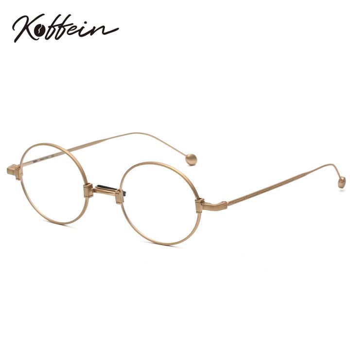 Koffein光学眼镜架Faithe COL.3 全金