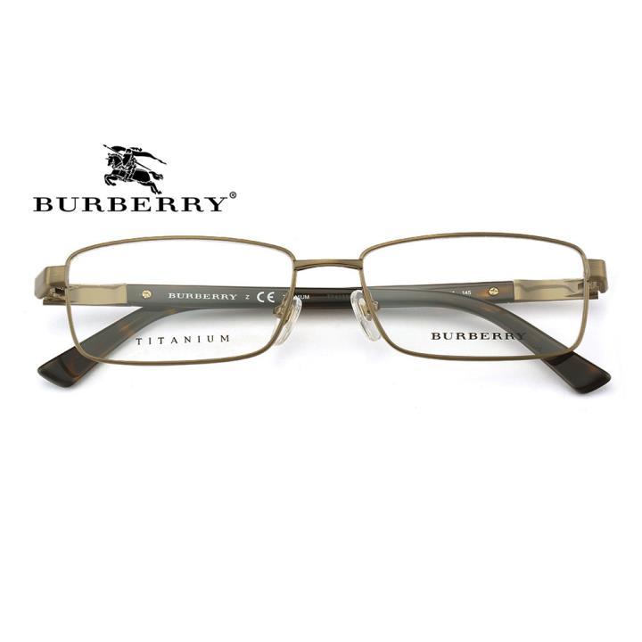 BURBERRY钛合金框架眼镜0BE1293TD 1108 55