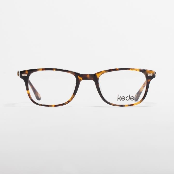Kede时尚光学眼镜架Ke1442-F03  玳瑁色