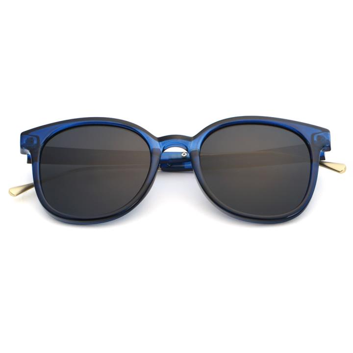 HAN时尚偏光太阳镜HD5810-S07 蓝框黑灰片