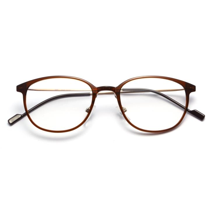 HAN时尚光学眼镜架HD3506-F15 棕褐色