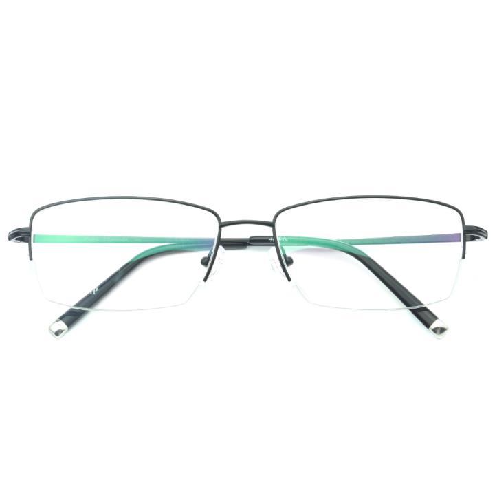 HAN纯钛光学眼镜架-纯黑(J81888-C2-4)