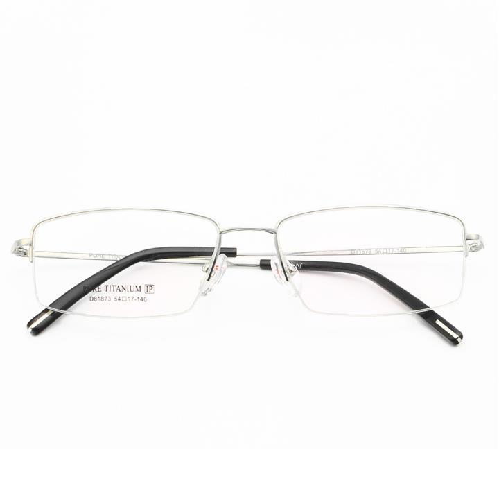 HAN TITANIUM光学眼镜架D81873-C2 银色