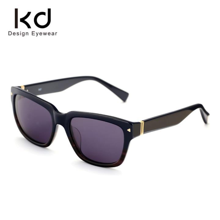 KD时尚太阳镜KD1428-S07  蓝棕双色