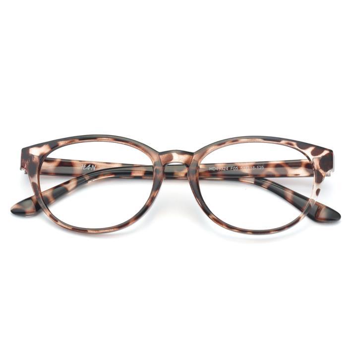 HAN MEGA-TR钛塑光学眼镜架-时尚豹纹(HD49324-F05)