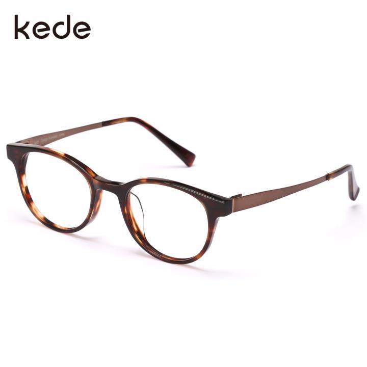 KD设计师手制板材金属眼镜kc7007-C04