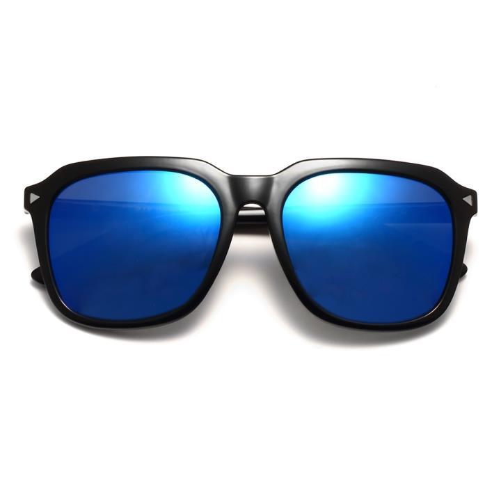 HAN时尚偏光太阳镜HDX5801-S07 黑框蓝色片