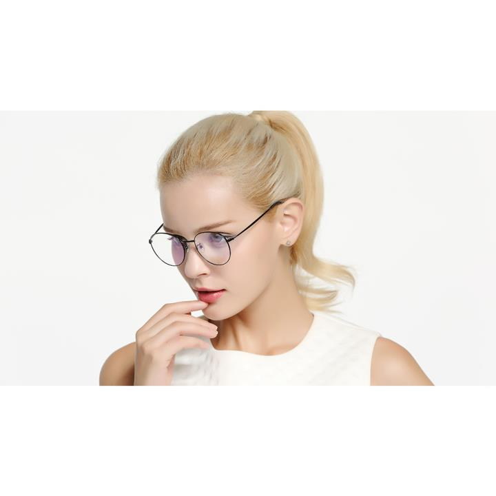 HAN COLLECTION光学眼镜架-亮银色(HD9023-C3)