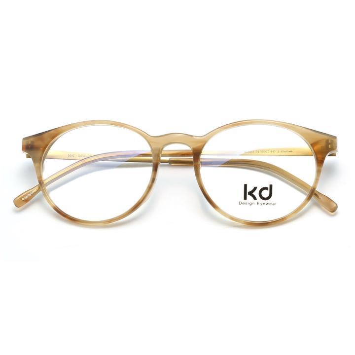 KD设计师手制板材金属眼镜kc7003-C04
