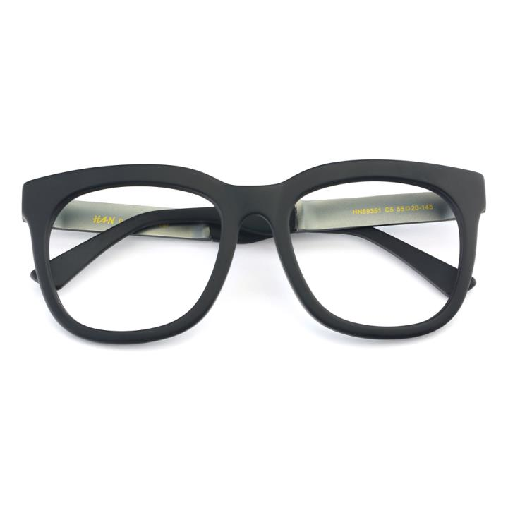 HAN板材太阳眼镜架-哑黑框(HN59351-C5)