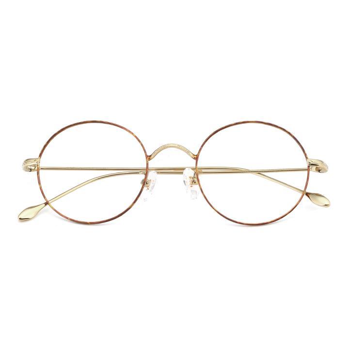 HAN合金光学眼镜架-玳瑁亮金(HN49361-C05)