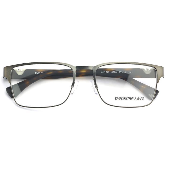 EMPORIO ARMANI框架眼镜0EA1027 3003 55 枪色