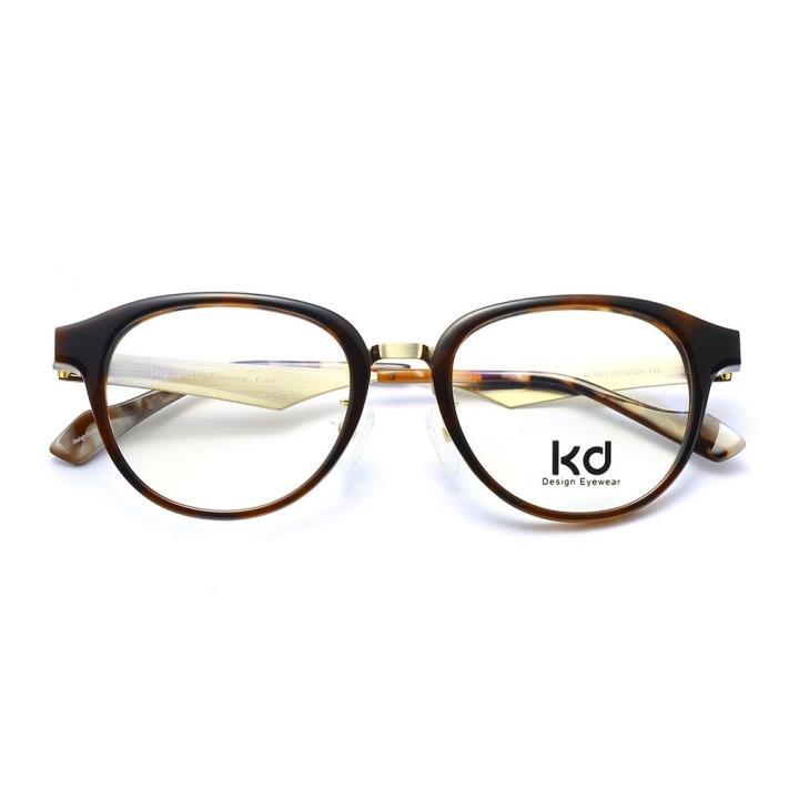 KD设计师手制板材金属眼镜kc7002-C05