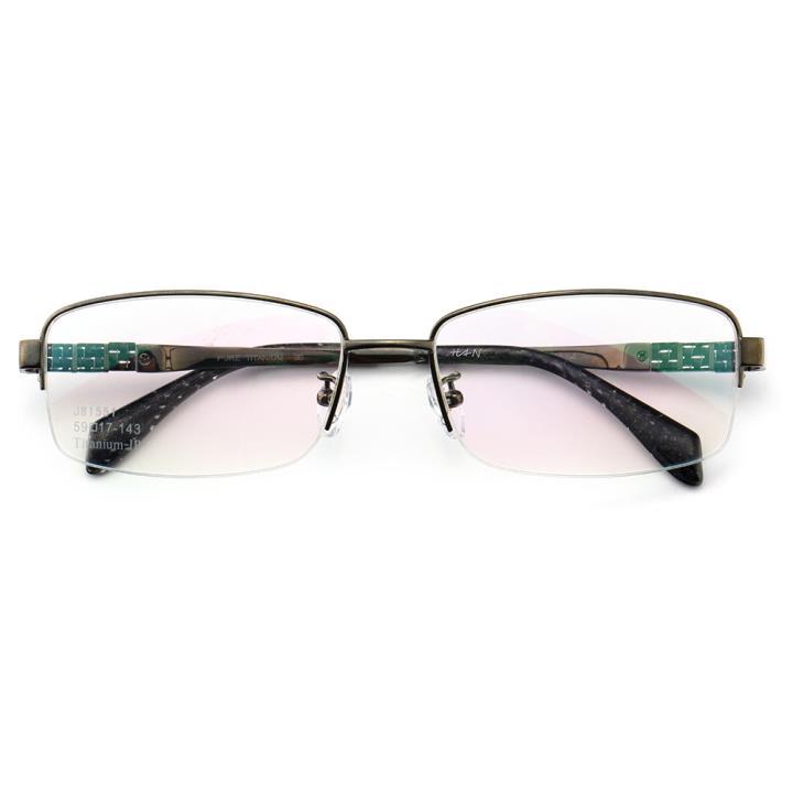 HAN时尚光学眼镜架J81551-C3低调亮枪