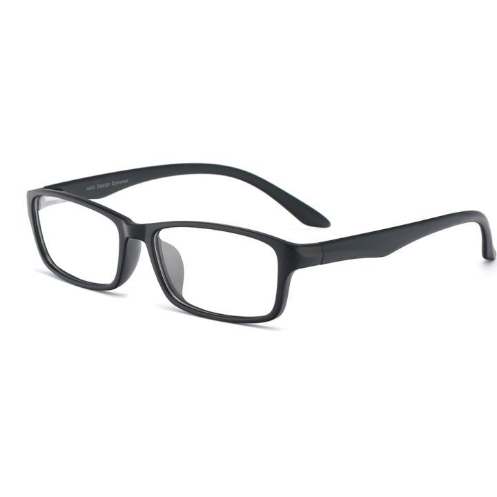 HAN MEGA-TR钛塑光学眼镜架-哑黑(HN48396-C02)