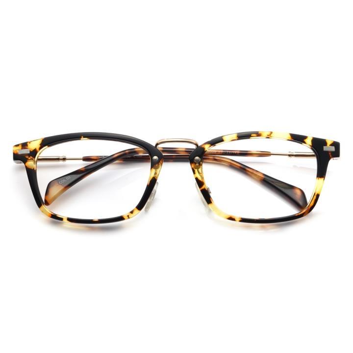 KD设计师手制复古板材框架眼镜kd009-C3