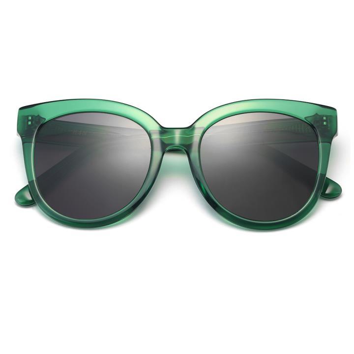 HAN RAZR-X9板材防UV太阳眼镜-绿框黑灰片(HD59208-S15)