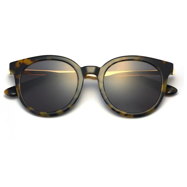 HAN RAZR-X9 板材防UV太阳眼镜-黄玳瑁黑灰片(HD59209-S03)