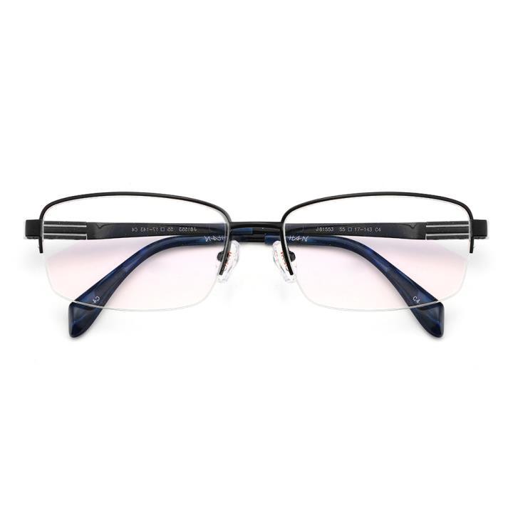 HAN时尚光学眼镜架J81553-C4哑黑色