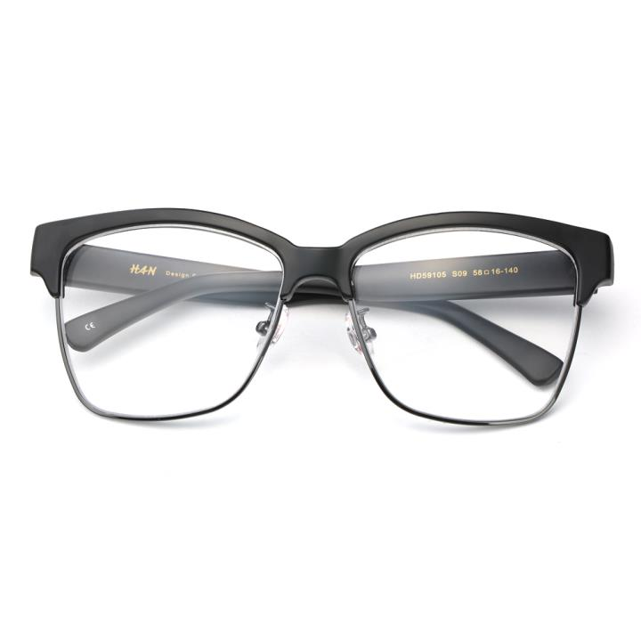 HAN时尚光学眼镜架HD59105-S09 黑框