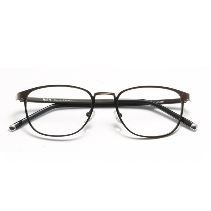 HAN时尚光学眼镜架-棕褐暖色(HD4833-F04)