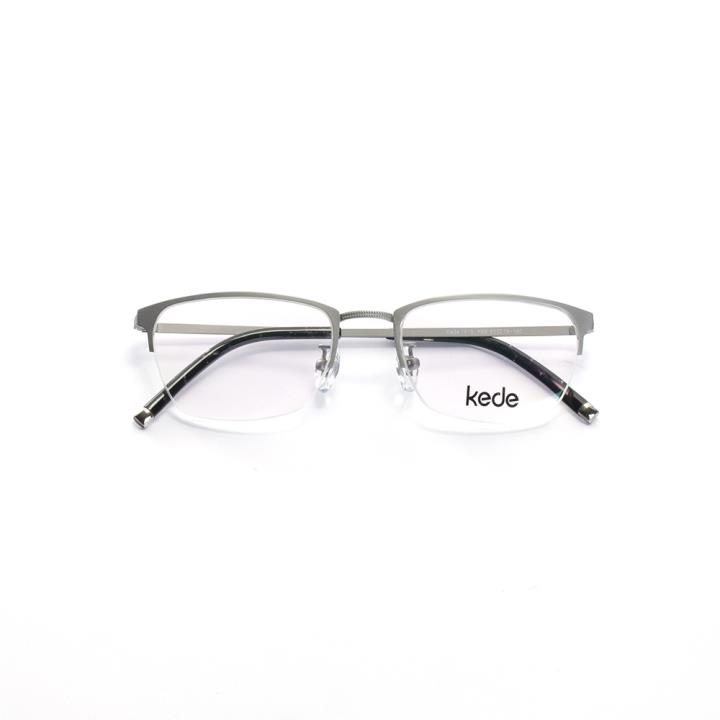 Kede时尚光学眼镜架Ke1415-F09  银色