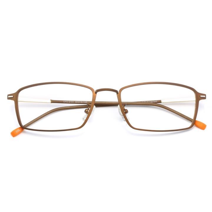 HAN时尚光学眼镜架HD4932-F04 深褐茶咖