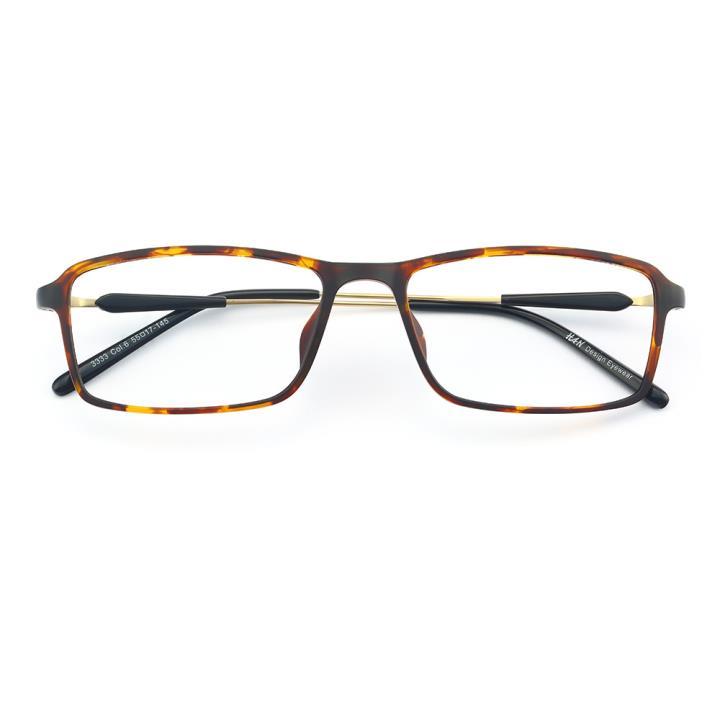 HAN MEGA-TR钛塑光学眼镜架-玳瑁色(3333-C6)