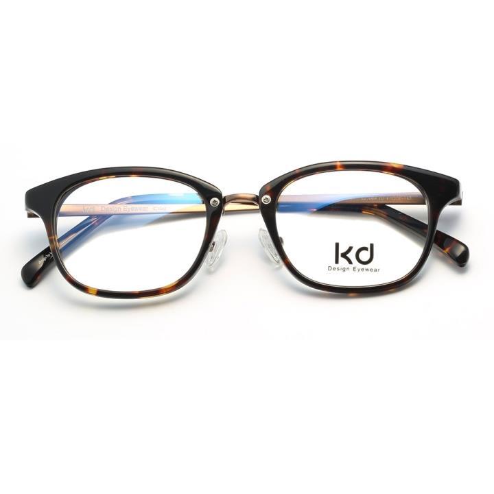 KD设计师手制板材金属眼镜kc7008-C03