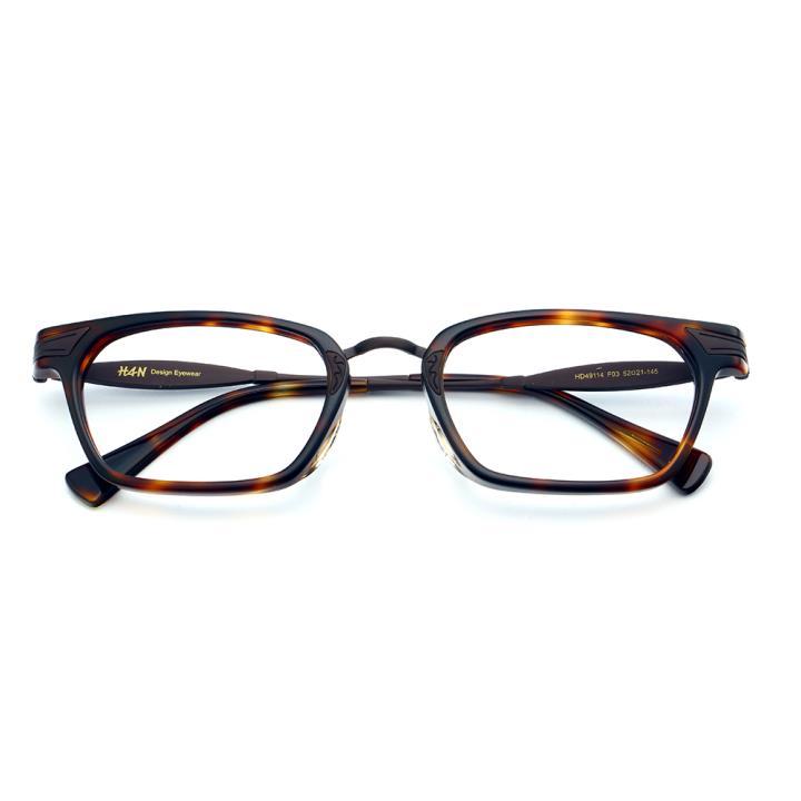 HAN时尚光学眼镜架HD49114-F03时尚玳瑁