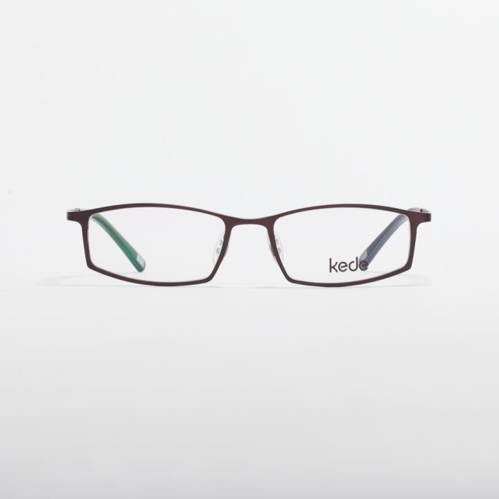 Kede时尚光学眼镜架Ke1422-F14  铜色
