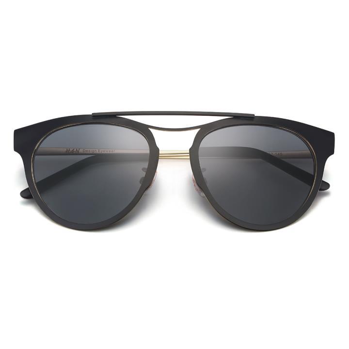 HAN RAZR-X9防UV太阳眼镜-黑框灰色片(HD59207-S01)