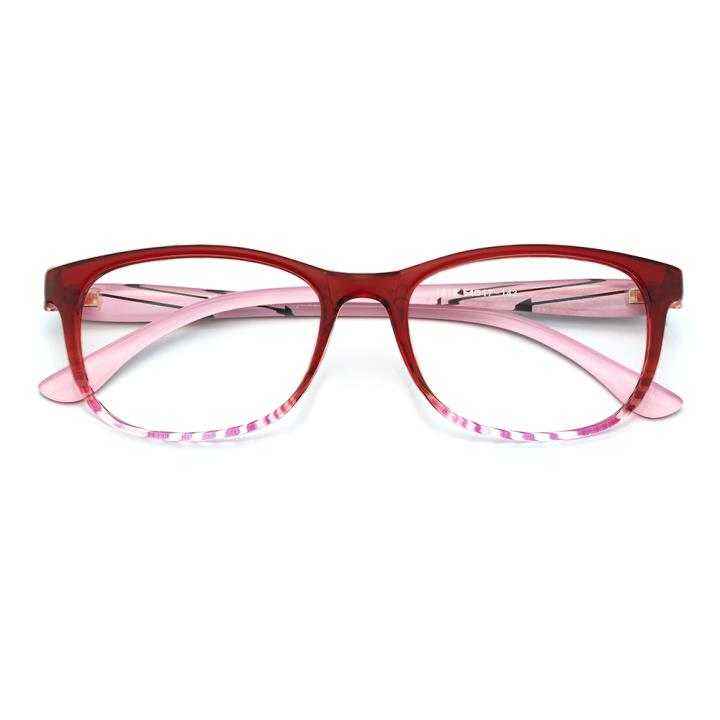 HAN MEGA-TR钛塑光学眼镜架-优雅红(1818-C566)