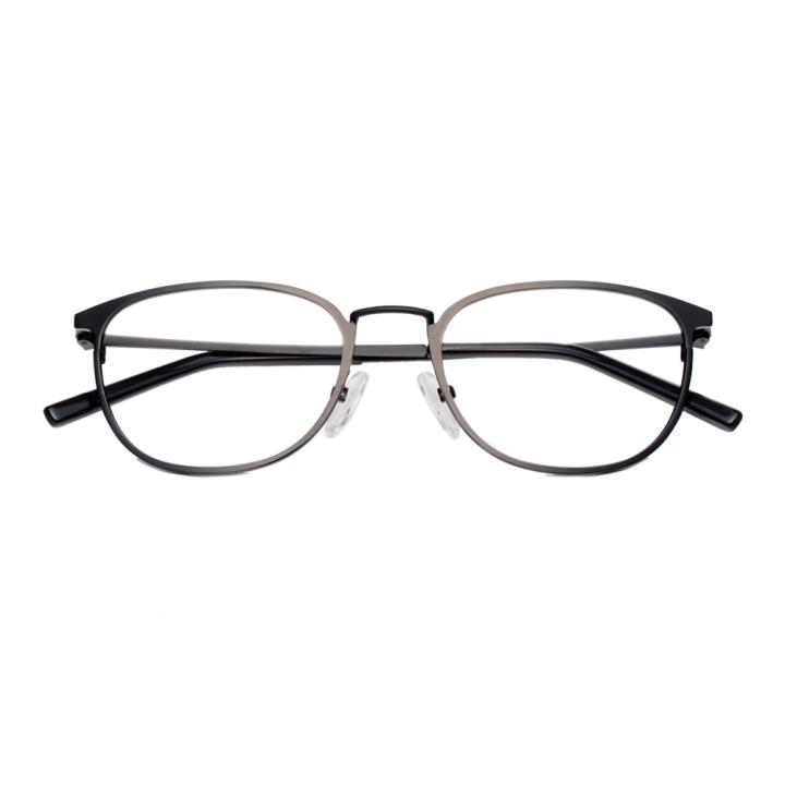 HAN金属近视眼镜架-哑黑小码(HD3312-F02)