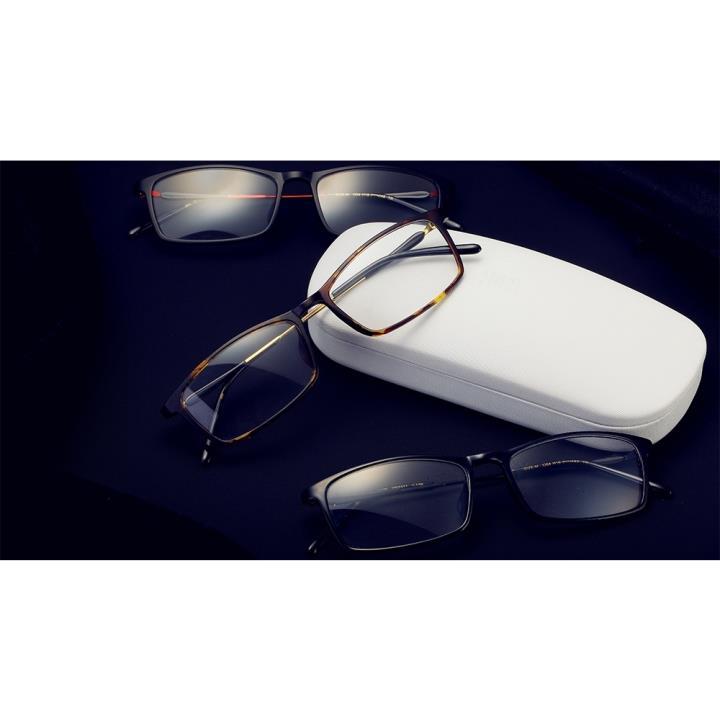 HAN COLLECTION 钛塑光学眼镜架-经典亮黑(HN3331-C1)
