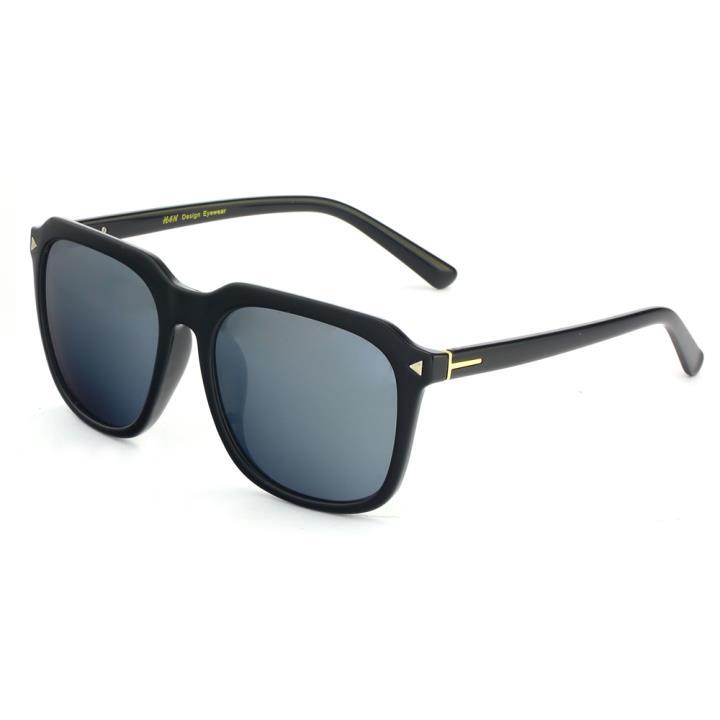 HAN时尚偏光太阳镜HDX5801-S09 黑框银色片