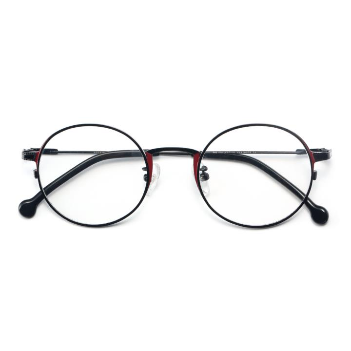 HAN COLLECTION 金属光学眼镜架-黑色(HN41007S C1)