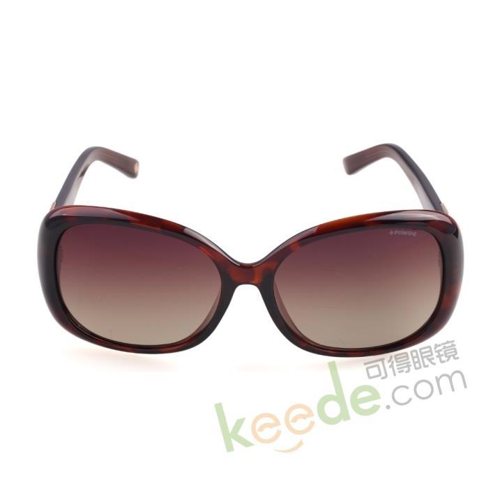 Polaroid宝丽来时尚板材偏光太阳眼镜A8302-B 棕色