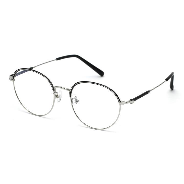 HAN kede联名款光学眼镜架HN42098M C3 亮银