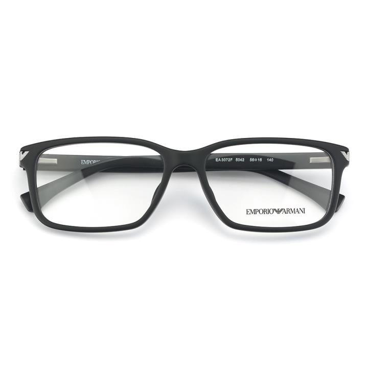 EMPORIO ARMANI框架眼镜0EA3072F 5042 56 黑色