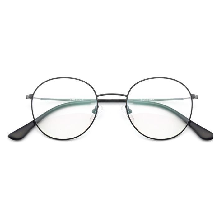 HAN光学眼镜架HD9023-C01经典纯黑