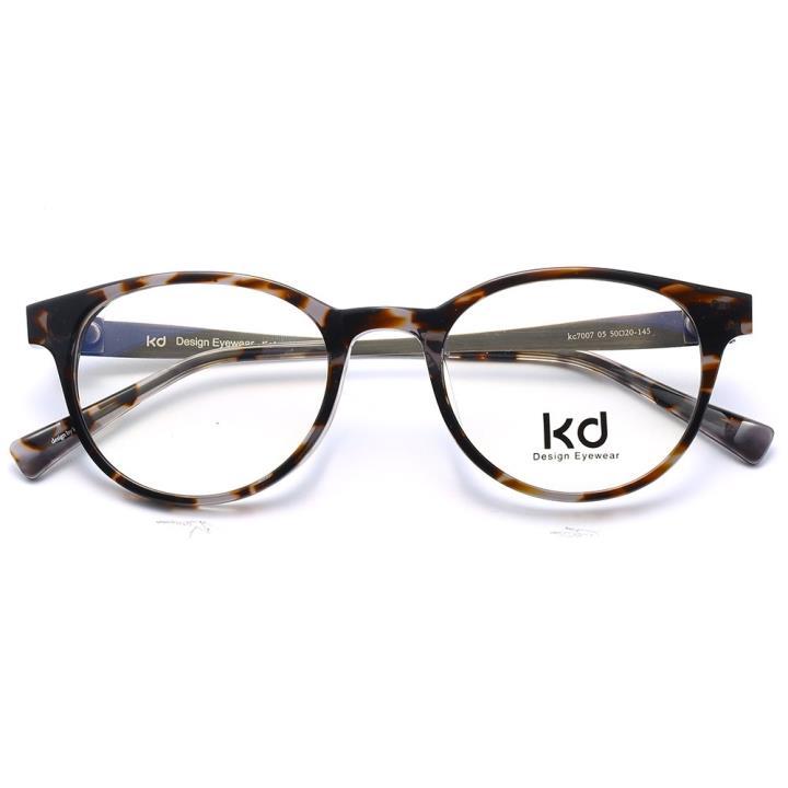 KD设计师手制板材金属眼镜kc7007-C05