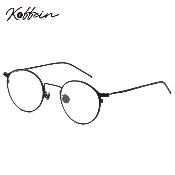Koffein光学眼镜架Dorothy COL.3 黑