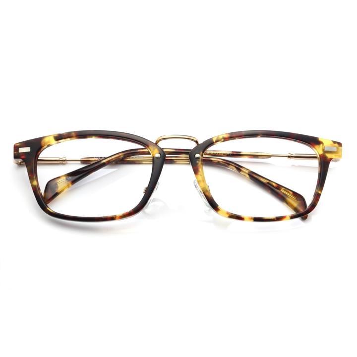 KD设计师手制复古板材框架眼镜kd009-C18